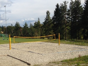 Beach volleyball på Konnerud